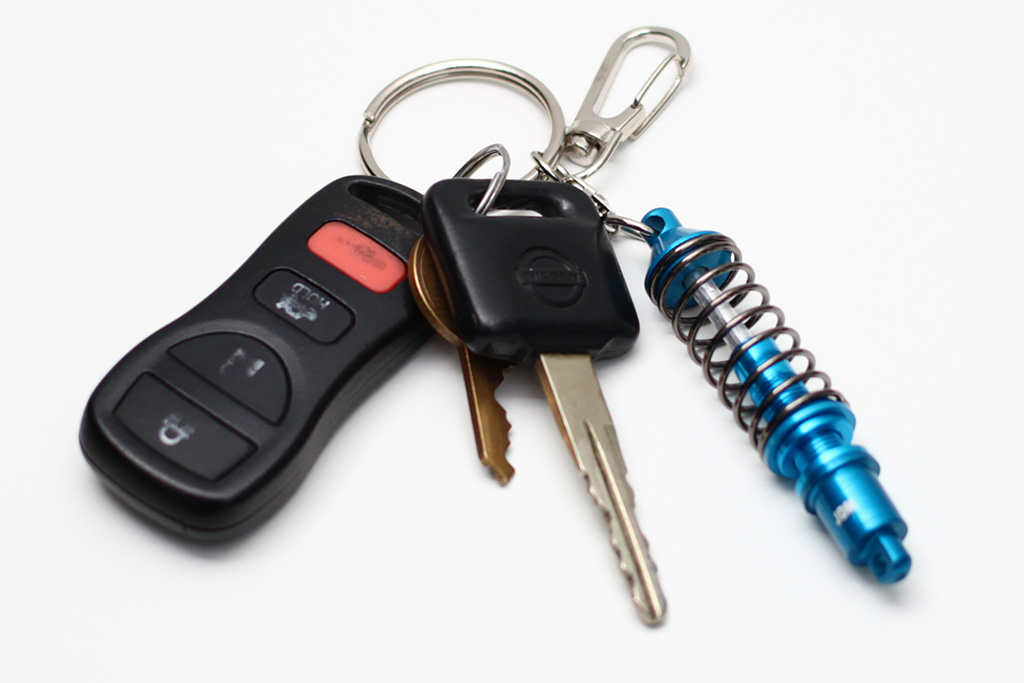 JDM Coilover Keychain (Fully Functional!)